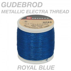 Gudebrod-Metallic-Royal-Blue-Electra-9245-D-100yd-Spoo3