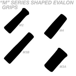 M Series Shaped Evalon Grips