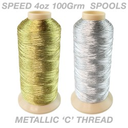 Speed Metallic 100Grm (4oz) Spool
